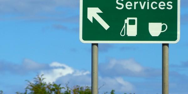 Service Station Sign