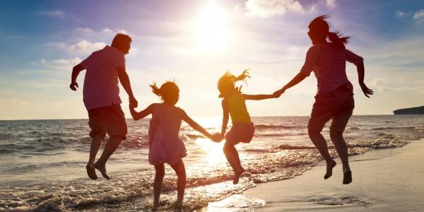 Family Summer Jump